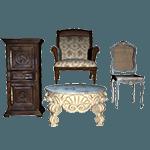 Очистить мебель